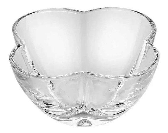 Bowl De Cristal De Clover 9x5cm P/ Servir Patês Petiscos Lyor