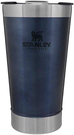 Copo Térmico Para Cerveja Com Tampa Azul 473ml Stanley