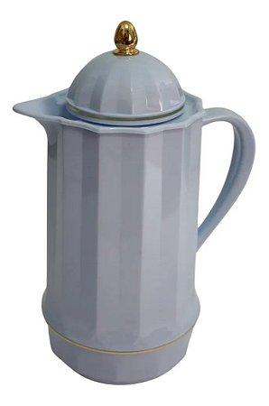 Garrafa Térmica Genova 1 Litro Retro Vintage - Lyor Azul