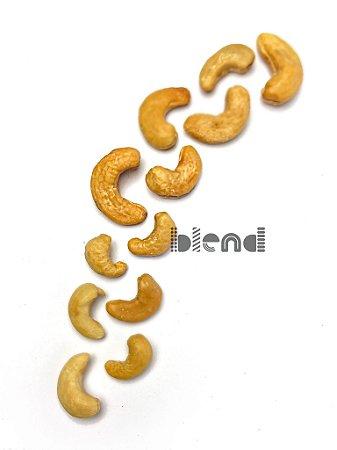 Castanha de Cajú Torrada e Salgada - W1 - 500 gramas