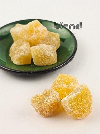 Gengibre em Cubos Cristalizado - 500 gramas