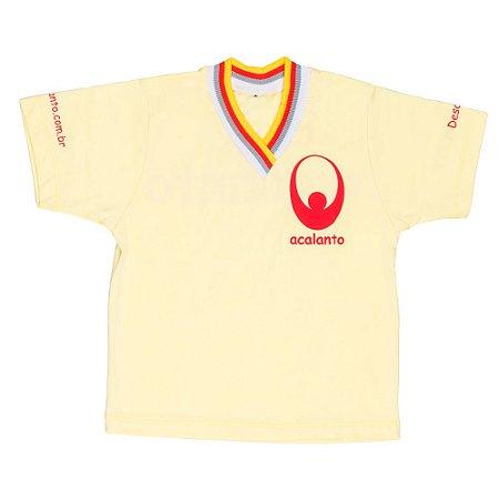 Tshirt acalanto silk vermelho