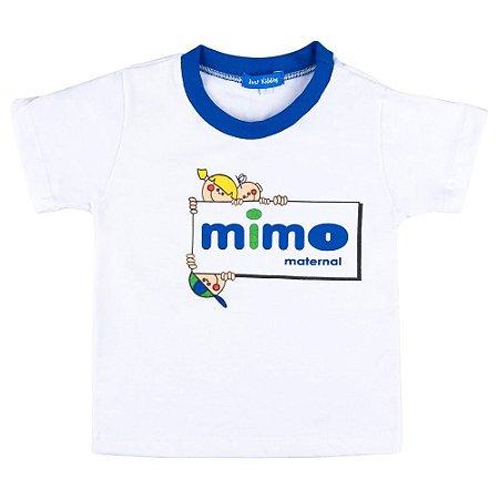 blusa manga curta Mimo