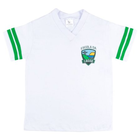 Tshirt  manga curta Escola da Lagoa