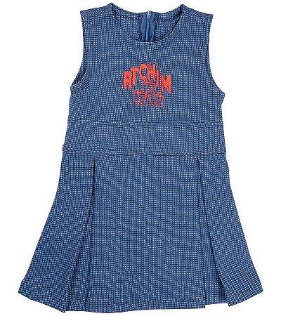 Vestido atchim Azul