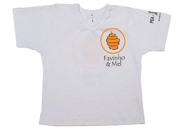 Tshirt escola Favinho & Mel