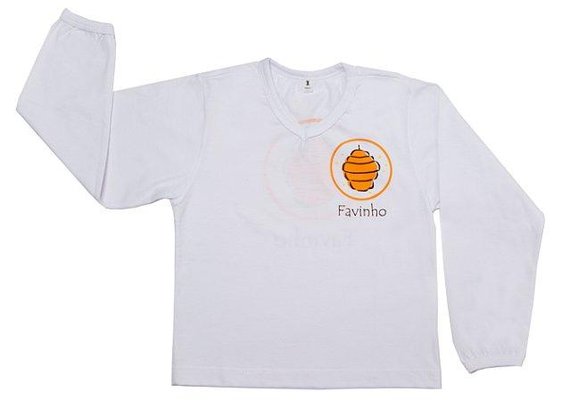 Camisa  manga longa Favinho & Mel
