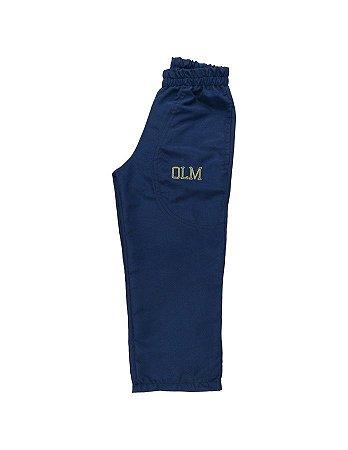 Calça microfibra azul marinho OLM/OLM navy blue tactel pants