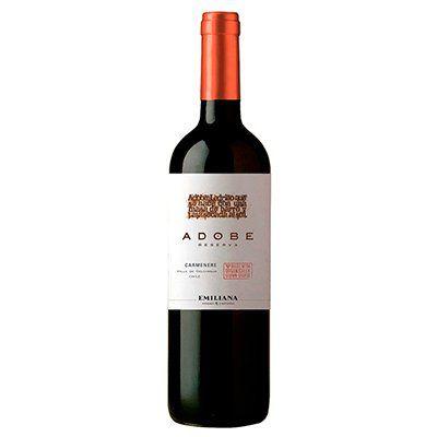 Vinho Chileno Emiliana Adobe Orgânico Carmenere 750ml
