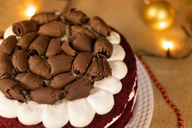 Torta Red Velvet - Aro 25