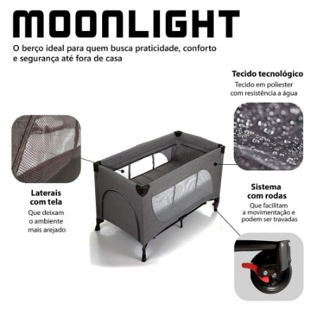 Berço Portátil  Moonlight - ABC Design