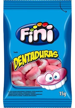 DENTADURAS TIRAS 15G FINI (CAIXA COM 12 UNIDADES)