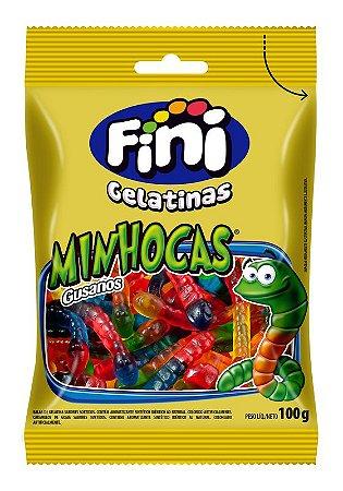 MINHOCAS 100G FINI (CAIXA COM 12 UNIDADES)