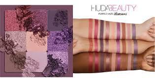 Huda Haze Eyeshadow Palette - Purple
