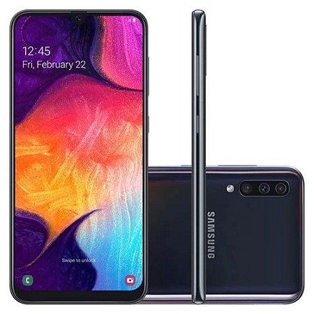 Smartphone Samsung Galaxy A50 128GB - Preto