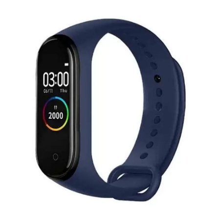 Relógio Pulseira Inteligente Smartband M4 Monitor Cardíaco