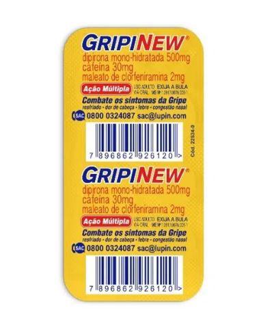 Gripinew 6 comprimidos revestidos