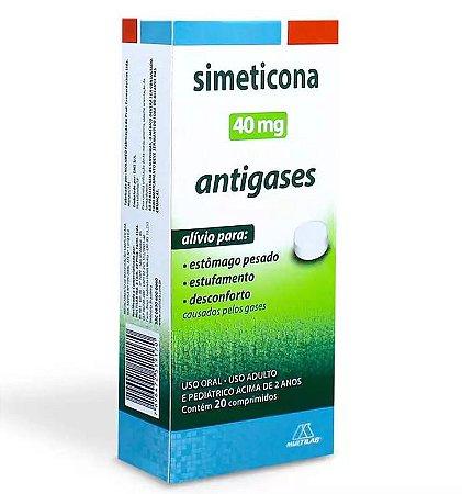 Simeticona 40mg Com 20 Comprimidos Multilab