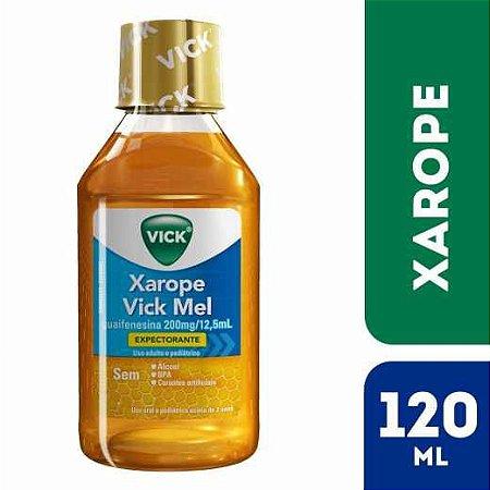 Expectorante Xarope Vick Mel com 120ml