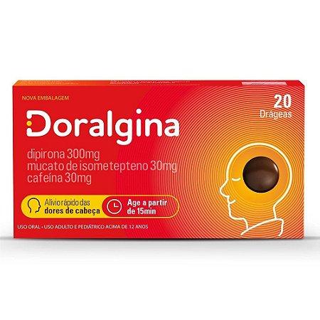 Doralgina Caixa c/20 Drageas Neo Quimica