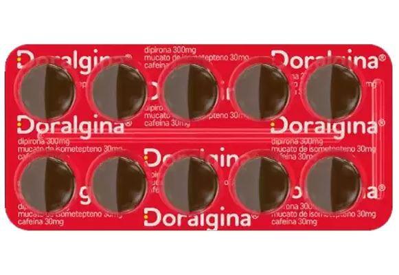 Doralgina Com 10 Drágeas Neo Química