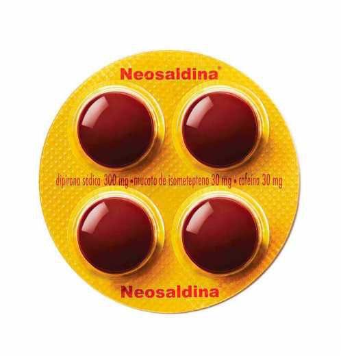 Neosaldina c/ 4 Drageas