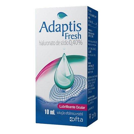 Adaptis Fresh Solução Oftálmica Lubrificante Ocular 0,4% 10mL