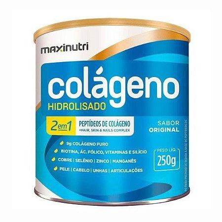 Colageno Hidrosilado 2 em 1 Maxinutri 250g