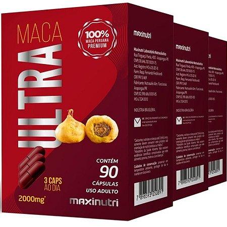Maca ultra 90caps 2g Maxinutri