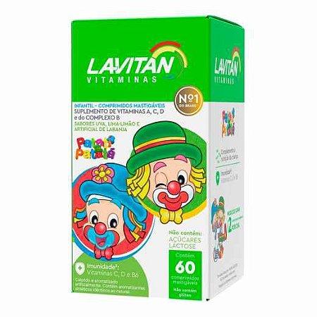 Lavitan Infantil Sabor Sortido 60 Caps