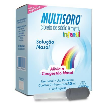 Multisoro 0,9% Solução Nasal gotas 30ml