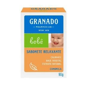 Sabonete Em Barra Granado Bebê Glicerina Camomila 90g