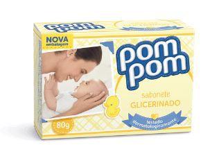 Sabonete Pom Pom Glicerina 80g