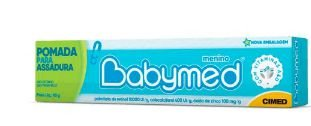 Pomada para Assadura Babymed Azul 45g