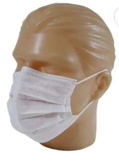 Máscara Descartável Com Elástico tripla 1 unidade