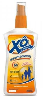 XO INSETO 15% SPRAY FRASCO 200ML