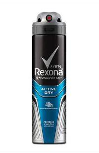 Desodorante Rexona Aerosol Antitranspirante Men Active Dry 150ml