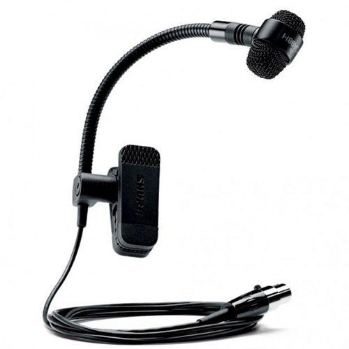 Microfone Condensador Shure PGA98H-TQG Para Instrumentos