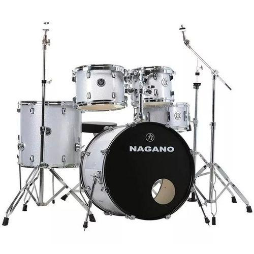 BATERIA NAGANO - GARAGE FUSION 20 SVS - Silver Sparkle