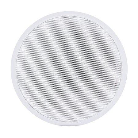 Caixas Acústicas Arandela Orion 6P Redonda 55W 8R Branca
