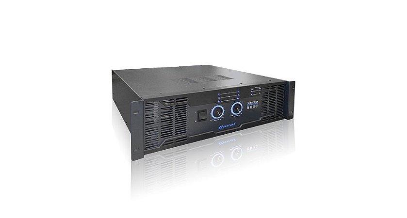 AMPLIF ONEAL 3800 PRO 3200W 2 OHMS 2000W 4 1010W