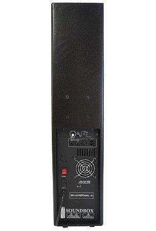 COLUNA SOUND BOX SB 4.6 VERTICAL ATIVO