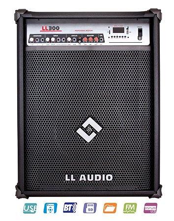 Caixa de som Amplificada Multiuso LL 300 BT 75W RMS USB SD