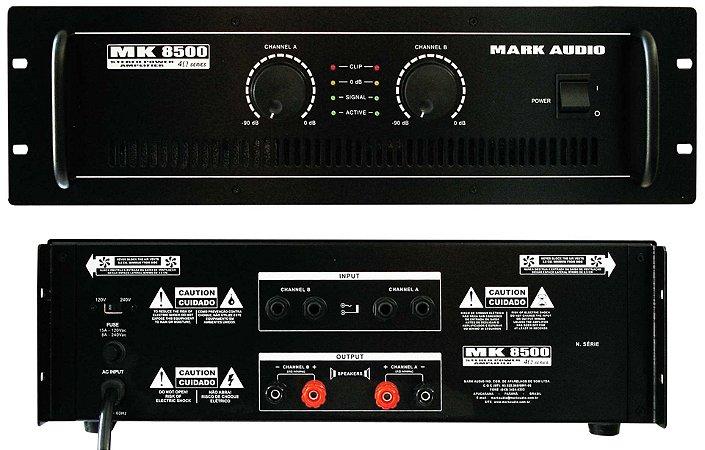 AMPLIF MARK AUDIO MK 8500 1500W RMS 4 OHMS