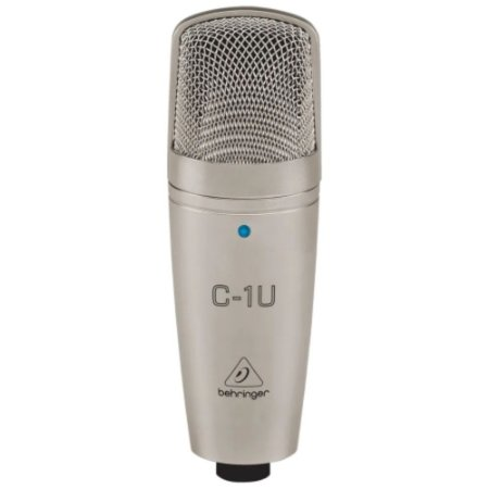 Microfone Condensador Profissional USB C-1U BEHRINGER
