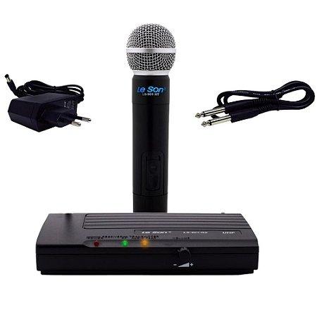 Microfone sem fio Bastão LS 901 HT - LESON