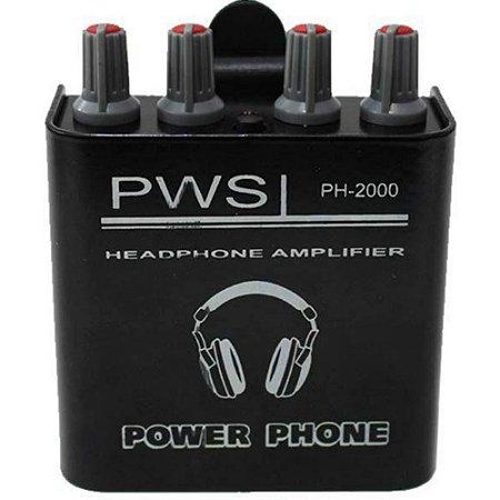 AMPLIF PWS HEADPHONE PH 2000
