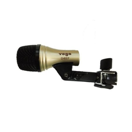 Microfone Profissional Cardioide Para Percussão D637 - YOGA