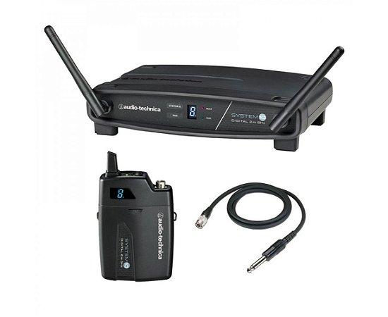 Transmissor Com Receptor Sem Fio Body Pack Audio-technica Atw-1101/g - Freq. 2.4 Ghz