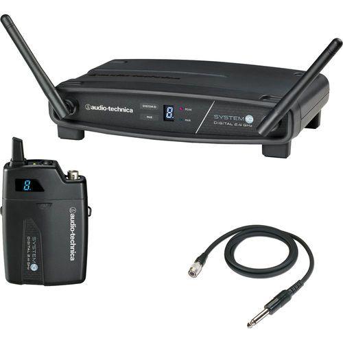 Transmissor Sem Fio Digital Audio Technica Atw-1101/g System 10 Para Instrumentos